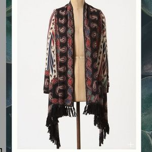 Anthropologie Guinevere Vinalhaven Wool Shawl